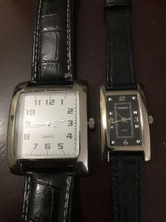 His and Her Quartz Watches