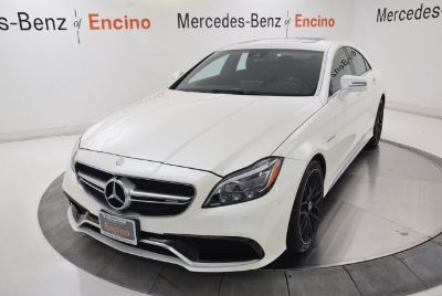 2016 Mercedes-Benz CLS-Class CLS63 AMG (DIAMOND WHITE)