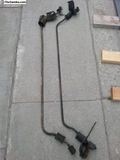 Link pin sway bar