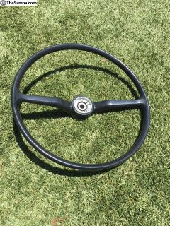 Brand New 1974 1/2 to 1979 VW Bus Steering wheel