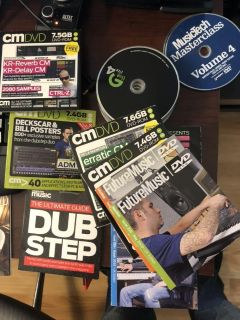 40 computer music dvd with samples