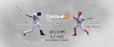 St. Louis Cardinals vs. Colorado Rockies at St. Louis - Tixtm.com