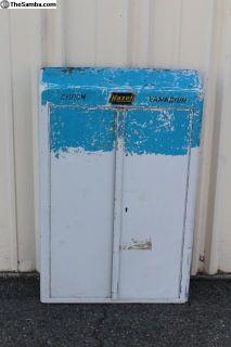 Vintage 1950's Hazet 110 Wall Mount Tool Box