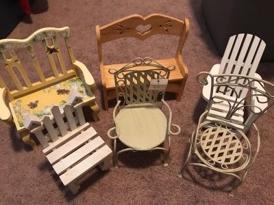 Mini chair collection, $10