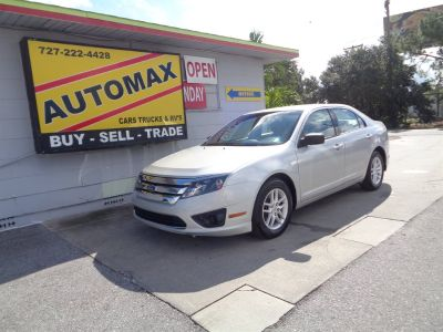 2010 Ford Fusion S (Silver)