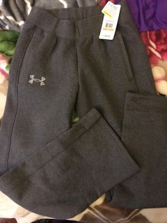 Women s small under armour sweat pants loose fit new with tags