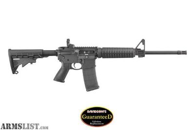 For Sale: Ruger AR-556 M4-Style Direct Impingment MSR - New in Box - Ruger:8500 All factory supplied accessories.