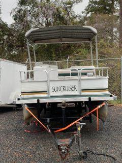 1996 Suncruiser Trinidad Pontoon Boat