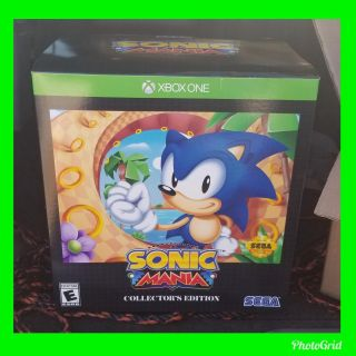 Sonic mania collector's edition for xbox one