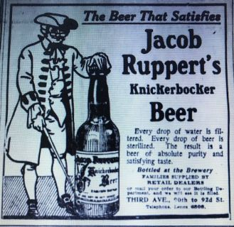 JACOB RUPPERT EXTRA BEER (NY PRE-PROHIBITION BOTTLE)