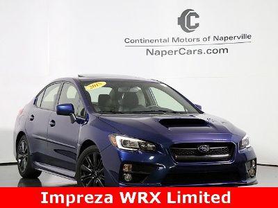 2015 Subaru Impreza WRX Limited (blue)