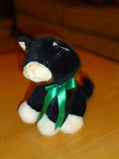 "cute stuffed 8"" kitten"