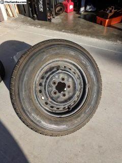 """14"""" Spare wheel & tire"""