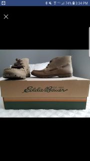 Womens Eddie Bauer leather shoes