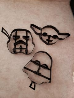 Star Wars cutters NEVER USED