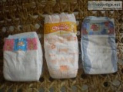Baby diapers and potties