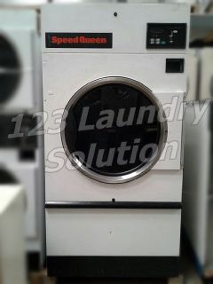 Speed Queen Single pocket Dryer 50LB ST050NBCF3G1W01 White Used