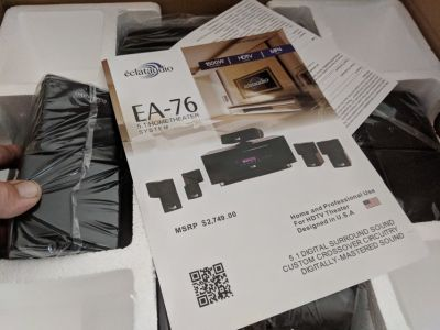 Home theater system new in box