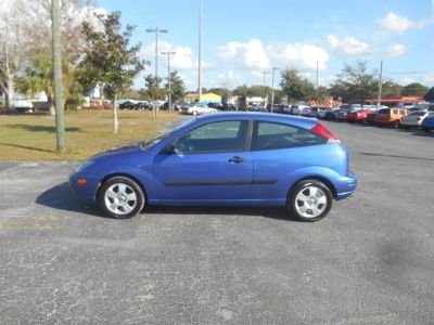 2004 Ford Focus ZX3 (Blue)