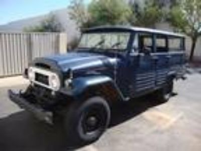 1965 Toyota Land Cruiser FJ45 Wagon Project