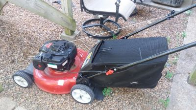 Lawn mower bagger $100 or best offer