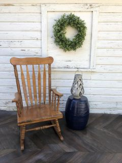 Wide Seat Rocking Chair