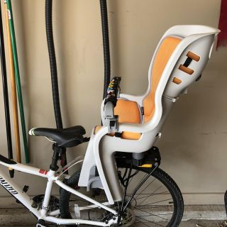 *REDUCED!! Topeak Baby Seat II 26in Disc Rack Bicycle Baby Seat like NEW!!! Retails $179.95