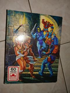 Masters of the universe vintage puzzle