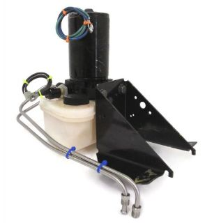 Sell Force Outboard L-Drive Trim Tilt Pump Motor Bracket Lines Reservoir AY F695541-1 motorcycle in Ada, Michigan, United States, for US $249.95