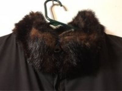 authentic looking reversible fur vest