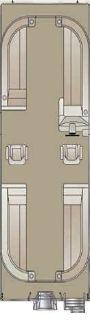 2018 Crest II 230 SLC TRI-TOON Pontoons Boats Kaukauna, WI
