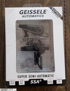 For Sale: Geissele SSA Trigger