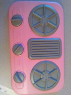 Pink stove toy