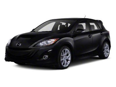 2013 Mazda MazdaSpeed3 Touring (Crystal White Pearl Mica/Black)
