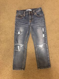 6 year old girls jeans .