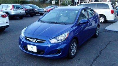 2012 Hyundai Accent GLS (Marathon Blue)