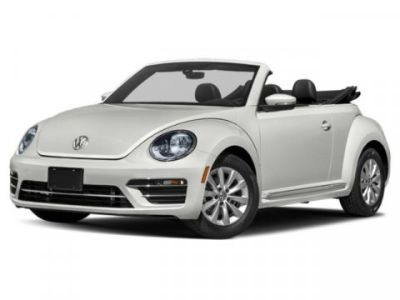 2019 Volkswagen Beetle Convertible SE (PURE WHITE W/BEIGE TOP)