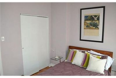 1 bedroom Apartment - The entrances opens into an living room with bright hard wood floor.