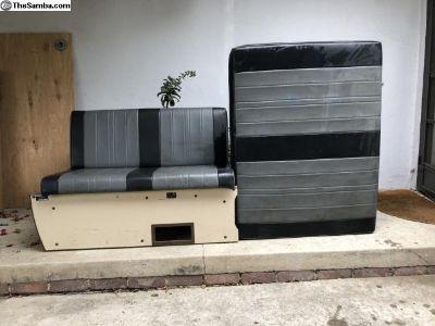 Westfalia Z ZBed with Engine Bay Cushion