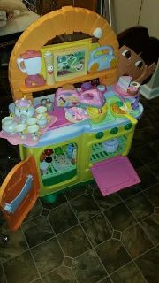 Dora 56 PieceTalking Kitchen