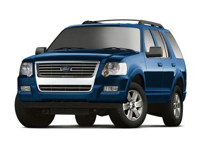 2009 Ford Explorer XLT (Brilliant Silver Clearcoat Metallic)