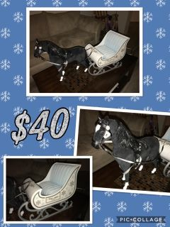 OUR GENERATION DOLL HORSE & SLEIGH