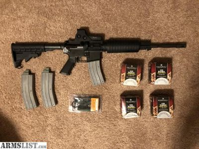 For Sale: CMMG 22LR AR15 (MK4LE) w/ EoTech Model 512 Holographic Red Dot Sight and 4 Bricks of 22LR Ammo
