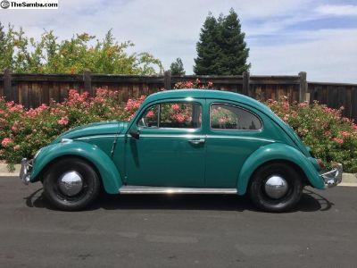 Original owner. Restored 1964 Bug w/sunroof