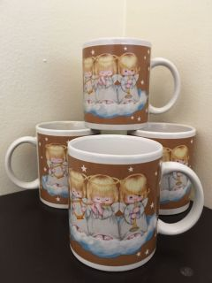 Set of 4 Hallmark Mugs