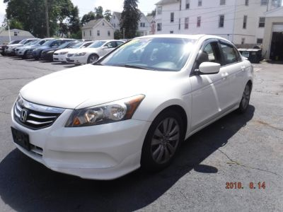 2012 Honda Accord EX-L (Dark Amber Metallic)
