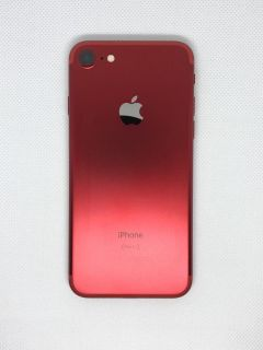 RED iphone 7 128 Gb with 1 year apple care