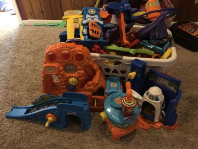 Lot of Vtech Go Go Smart wheels track and vehicles
