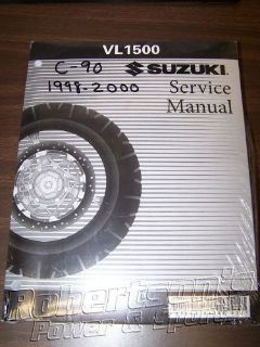 Sell Suzuki VL1500 C90 Intruder Boulevard 98-00 Service Manual Book 99500-39168-03E motorcycle in Sanford, Maine, United States, for US $45.99