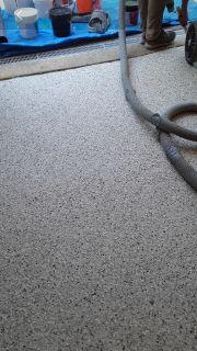 Polyaspartic flooring @